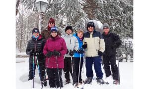Snowshoe Probus Osler Bluff  Mar 2_2016