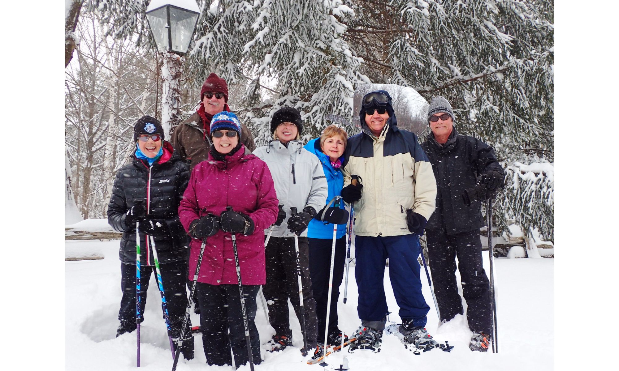 Snowshoeing Feb 7