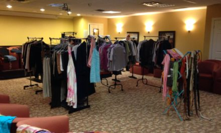 We shopped until we dropped at the Ladies Fashion Swap