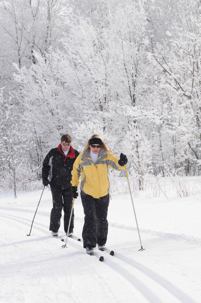 Cross country skiing in collingwood ontario