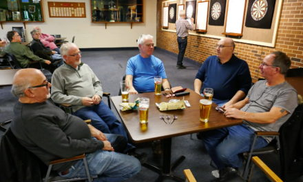 Darts, January 3 outing