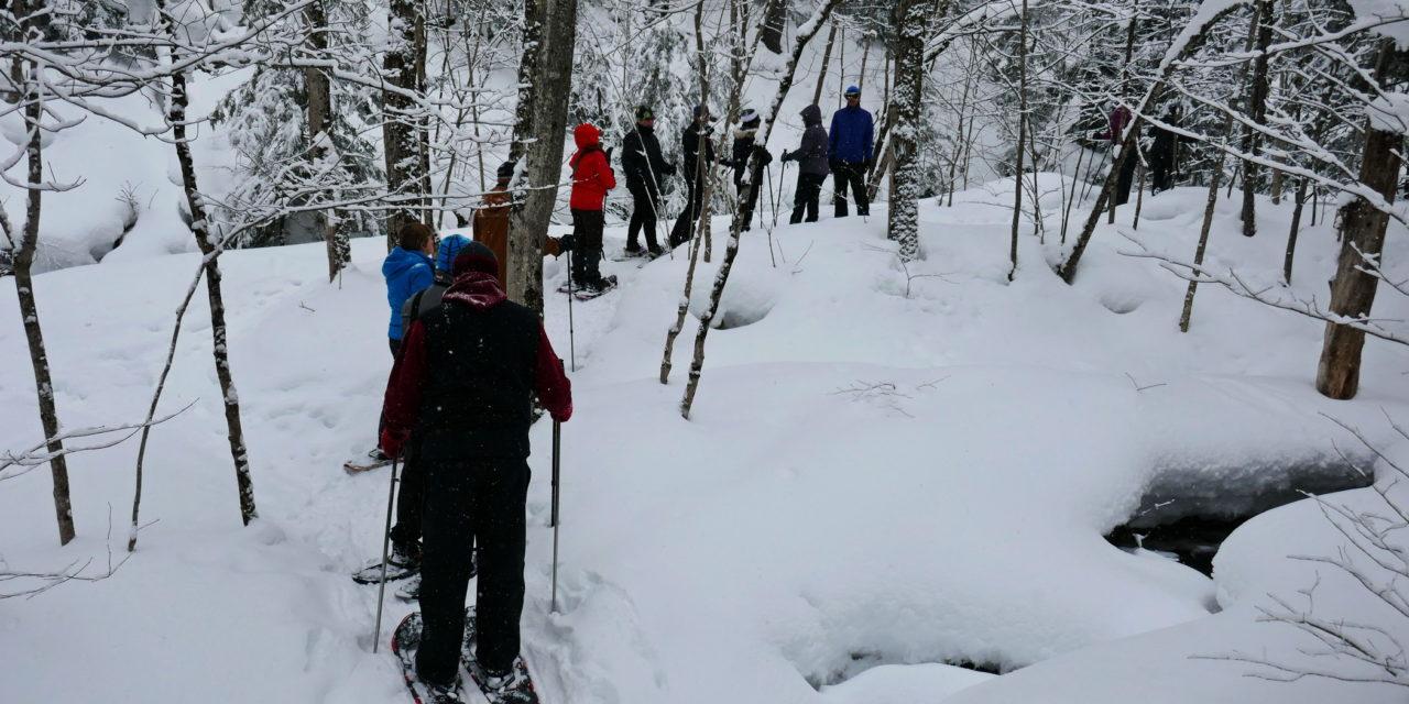 Walter's Falls Snowshoeing Video