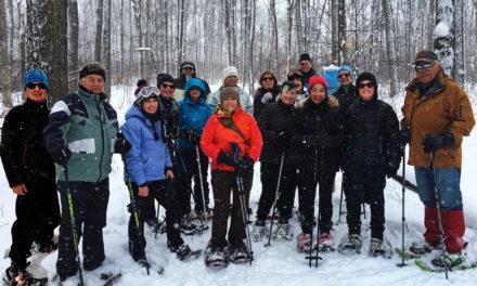 Snowshoeing Nottawasaga Bluffs