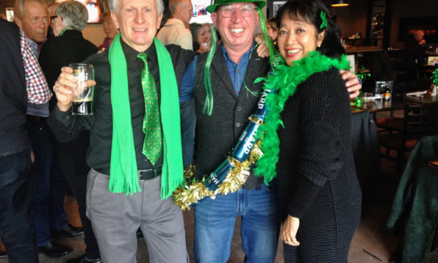 St. Patrick's Day at Harbour Street Fish Market