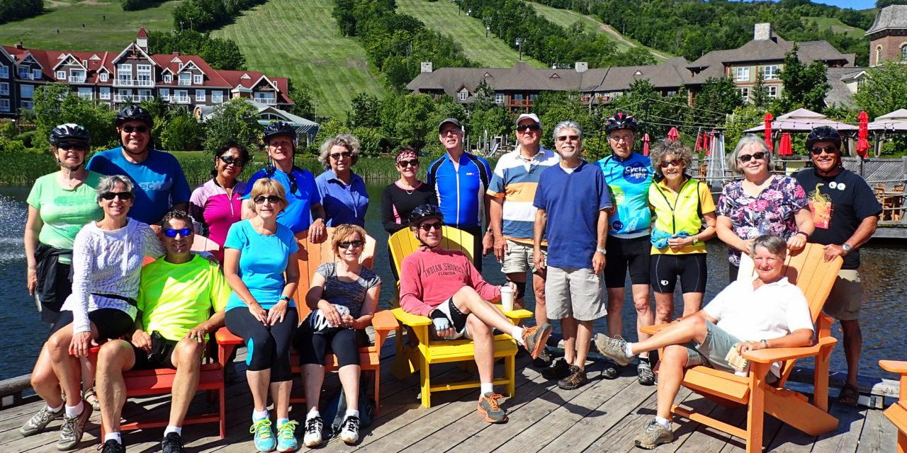 Wednesday Bikers take on the Mountain!