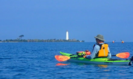 Kayaking on the Bay to the historic Lighthouse