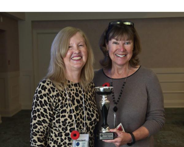 Debbie Bullock receives President's Award!!