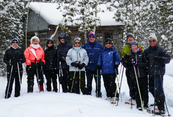 First Snowshoeing Trek this Winter!!