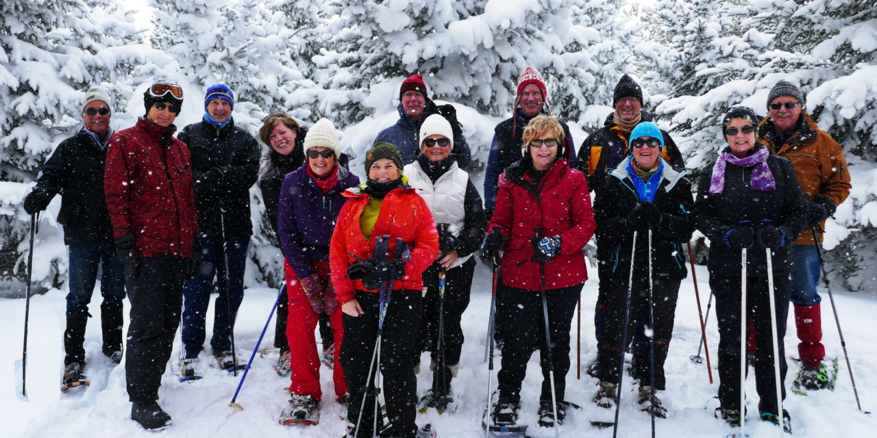 Snowshoeing on the Escarpment