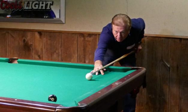 "Behind the 8 Ball & dodging the ""Moguls""…billiards anyone?"