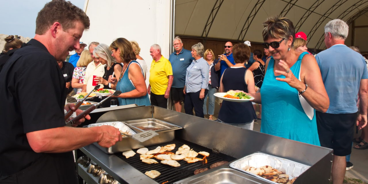"""Hot Fun in the Sizzling Summertime at """"Rounds Ranch"""" BBQ"""