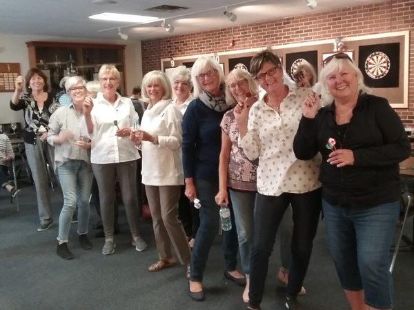 Ladies darts outing