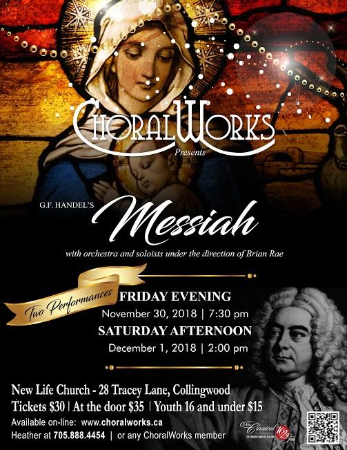 Choral Works - Handel's Messiah, Matinee performance
