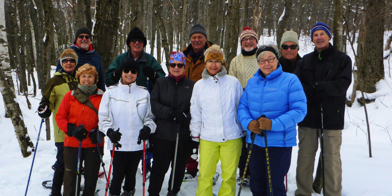 If the (Snow) Shoe Fits..Try out the Trails with us!