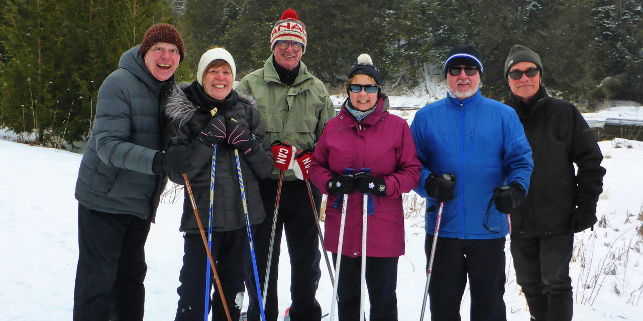 Mad about Snowshoeing!!