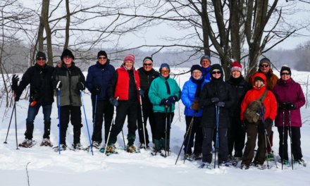 Snowshoeing report