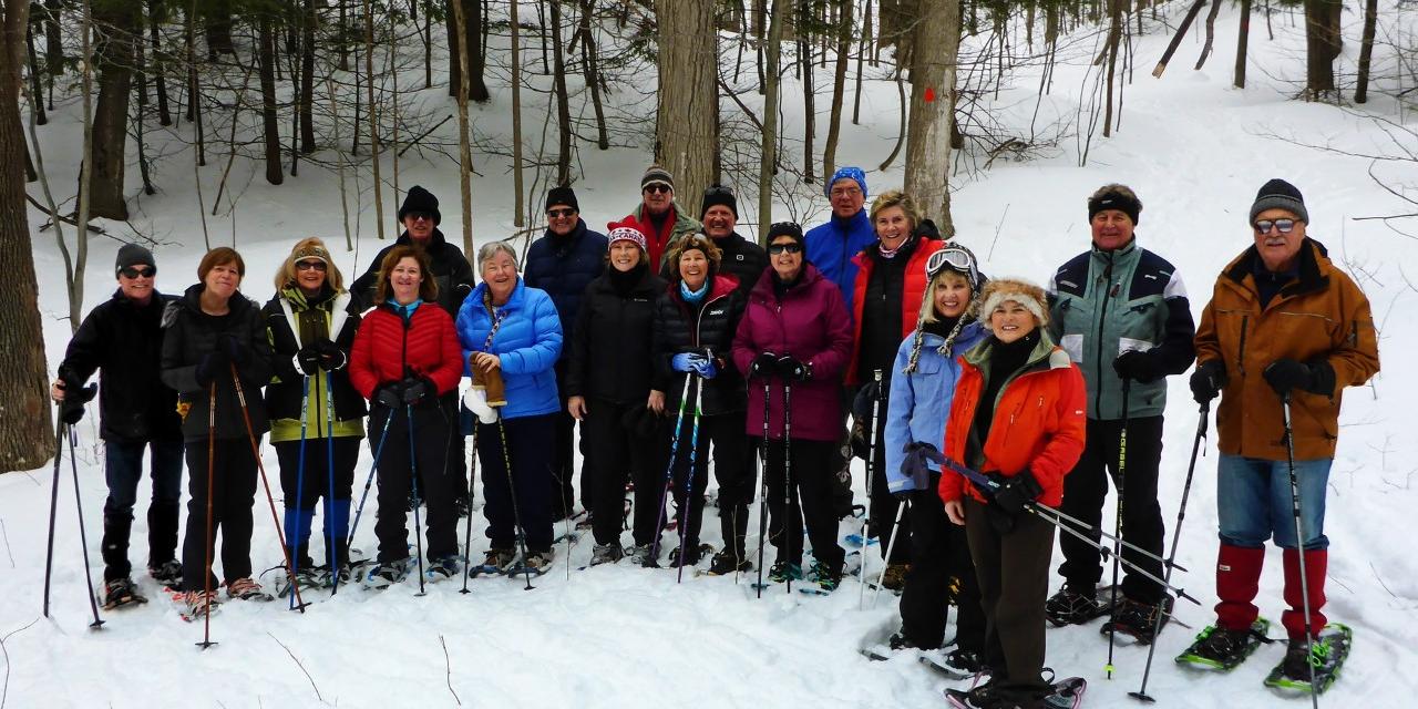 Embracing winter activities