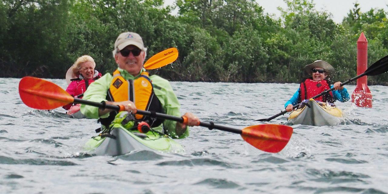 Kayaking Kapers around Kollingwood