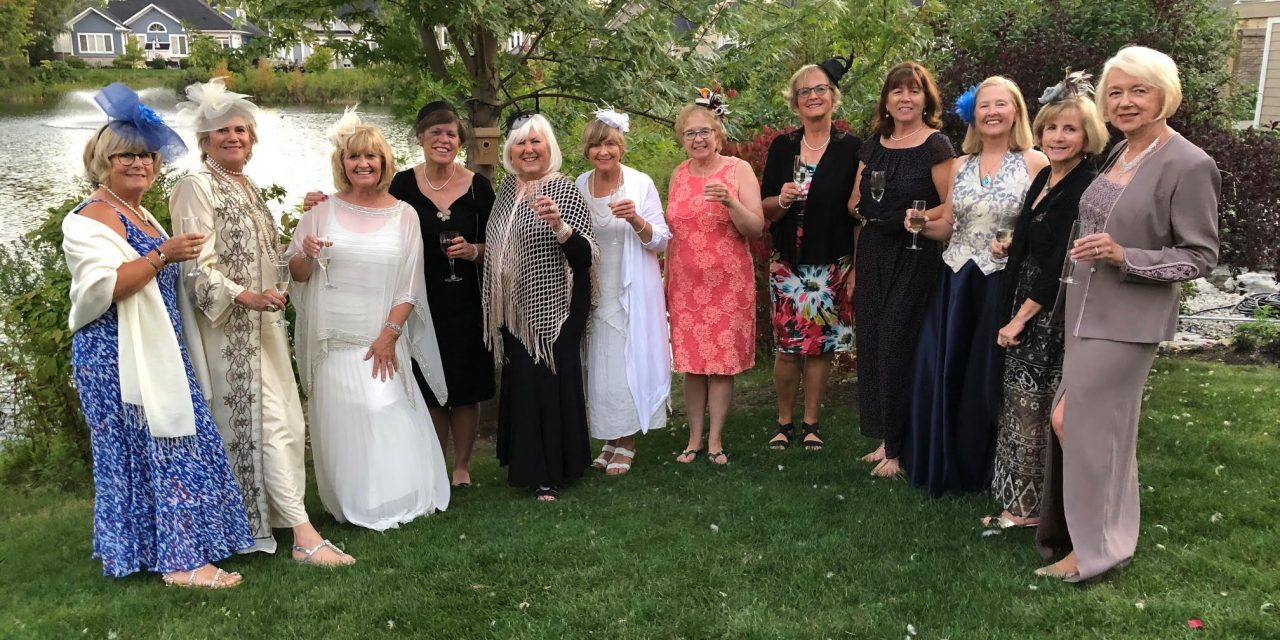 "A ""Gala"" at the Ladies Evening Bookclub"