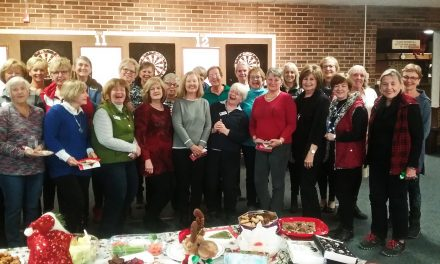 Women's Xmas Darts Party – Hits the Bullseye!!