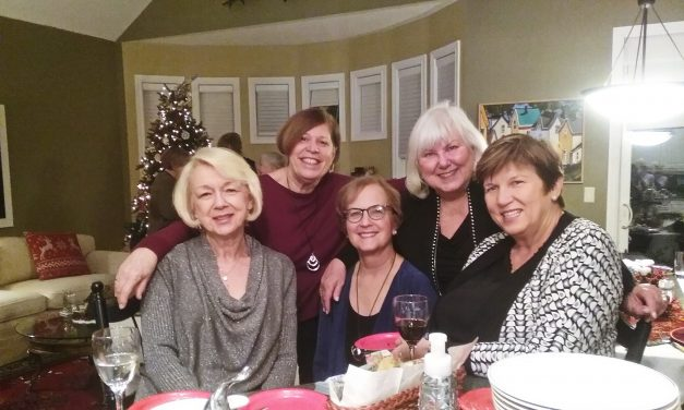 Women's Christmas Book Club Party