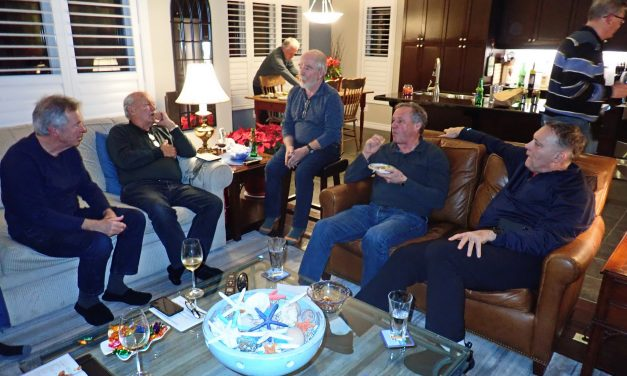 Men's Book Club meets to discuss Lee Child's – Killing Floor (at Don's place)