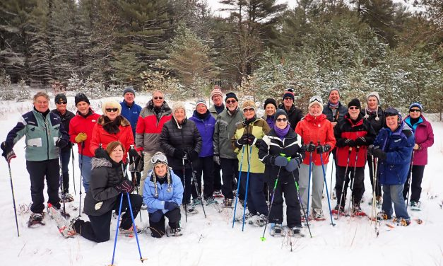 Snowshoeing the Wasaga Beach Trails!