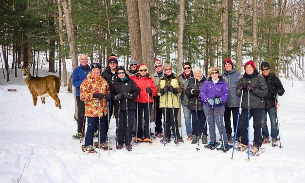 Snowshoeing the Nipissing Ridge