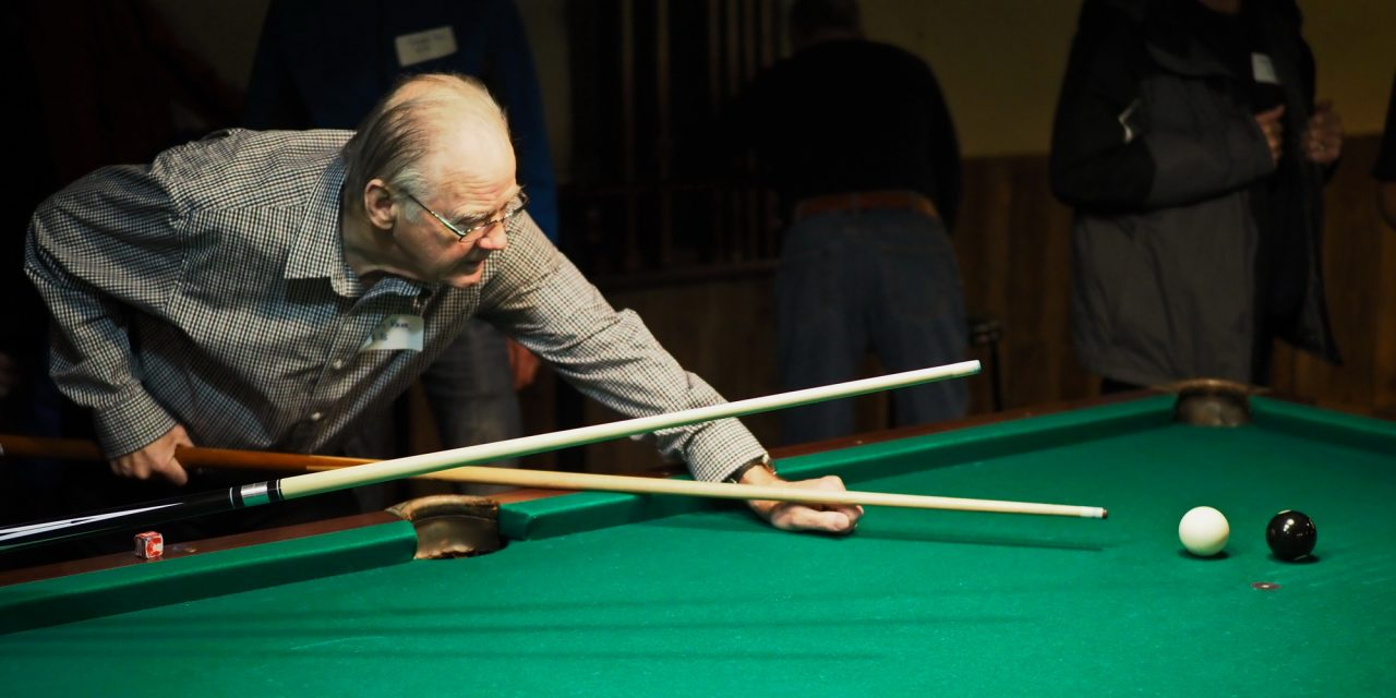 "Billiards provides that…""Sinking Feeling""…and that's the ""hole truth"""