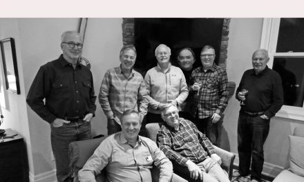 Men's Book Club meets at Dave Heaslip's place