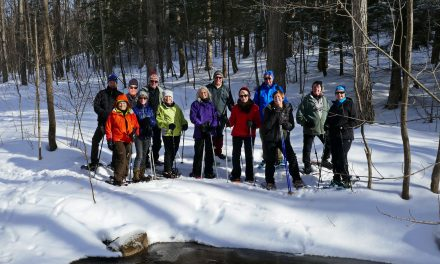Snowshoeing the Creemore Nature Preserve – Mingay Loop