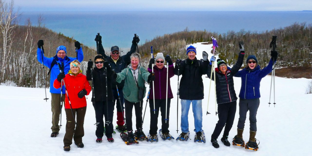 Our Last Snowshoe in 2020 BC….(Before Corona)…The Loree Forest