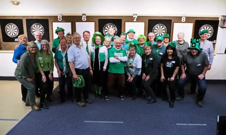 St. Paddy's Day, Darts & The Legion..PERFECT!