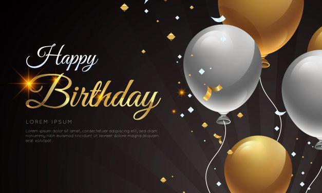Happy birthday April celebrants
