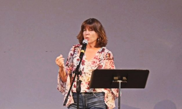 A Whole New World – performed by our own Linda Jessen