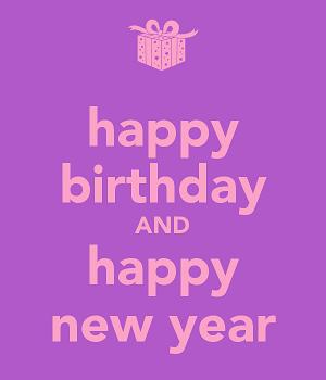 Happy New Year Birthdays